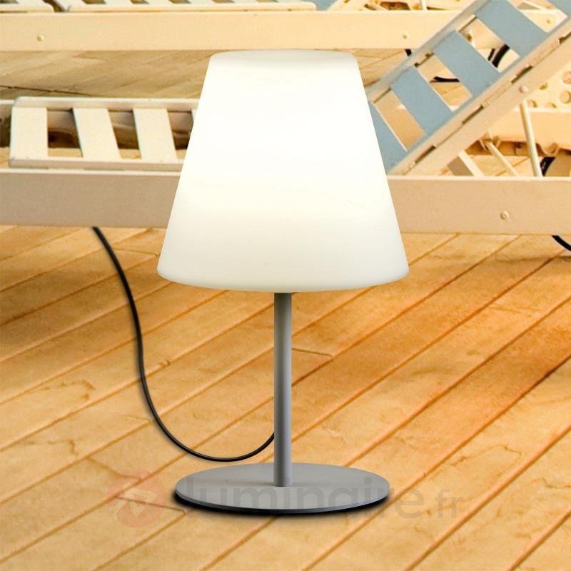 Lampe à poser d'extérieur élégante MORIS 60 cm - Lampes décoratives d'extérieur