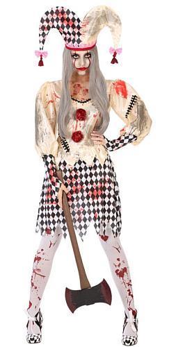 Costume arlequin dame - Décoration et déguisements pour Halloween