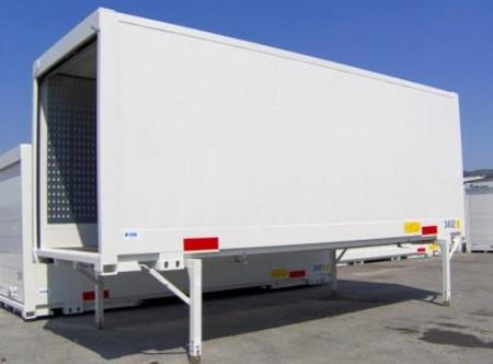 Steel Van / Curtain Swap Body - Designed and built for intermodal transport (road / rail / sea) and the widespre