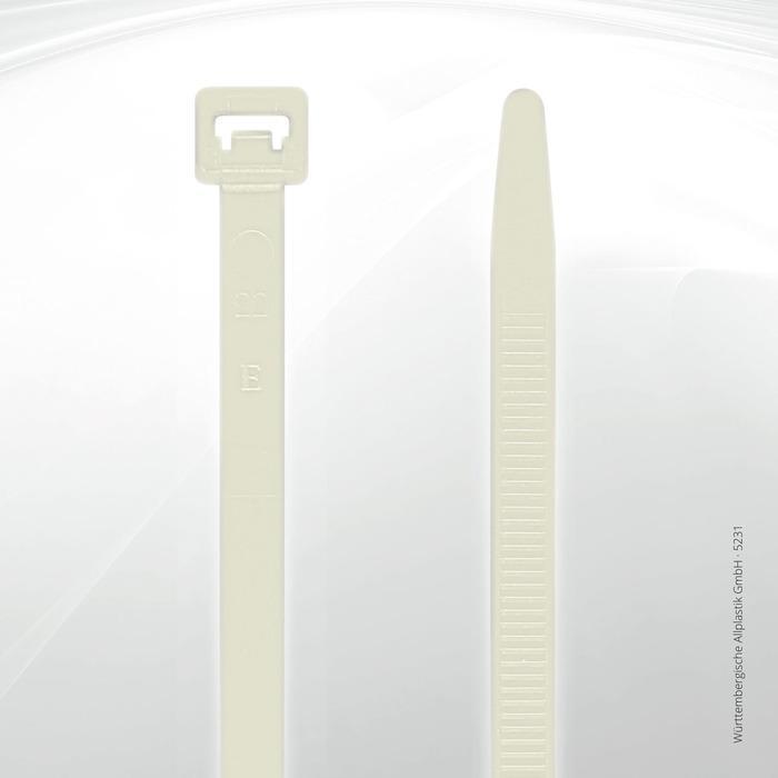 Allplastik-Kabelbinder® cable ties, standard - 5231 (natural)