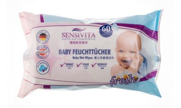 Sensivita Baby Feuchttücher -