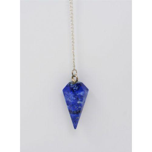 Pendules Facetté pierres Lapis-Lazuli