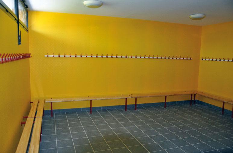 Vestiaires - Système de construction - Bâtiments sportifs et Espaces Loisirs