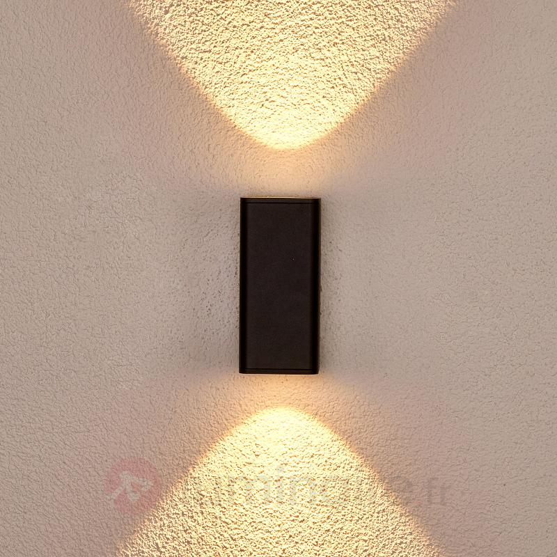 Applique d'extérieur LED gris foncé Ruja - Appliques d'extérieur LED