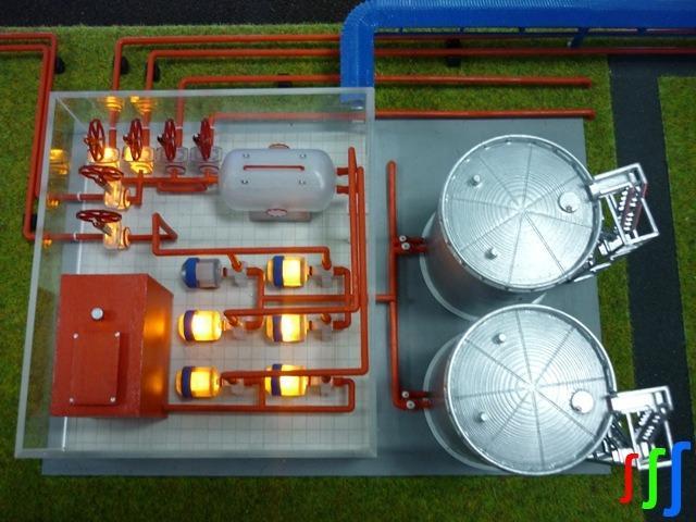 Simulation model  - Interactive complex simulation model (ICSM) – oil pump station