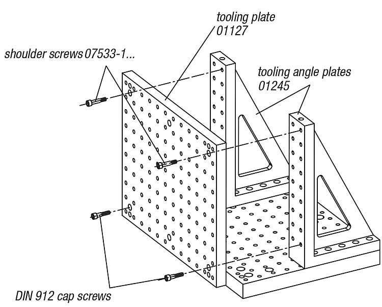Angle plates - Add-on elements