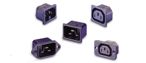 Connectors - CEE 22 mains connectors