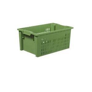 Drehstapelbehälter: Actio 6427 2 - Drehstapelbehälter: Actio 6427 2, 600 x 400 x 270 mm, grün