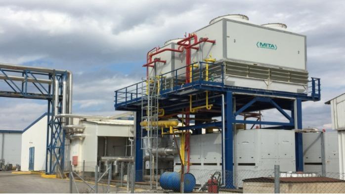MCE Condensatore industriale - per condensare gas