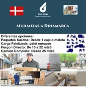 Mudanzas a Dinamarca - Desde España y otros países de la Unión Europea