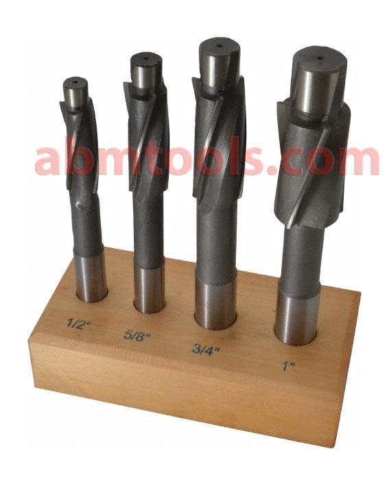 Solid Cap Screw 3 Flute Counter Bore - Designed to create a recess for socket head cap screws and shoulder screws.