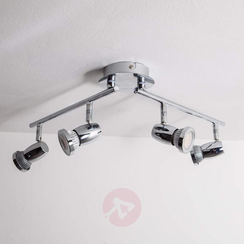 4-Light GU10 LED ceiling lamp Arminius - Ceiling Lights