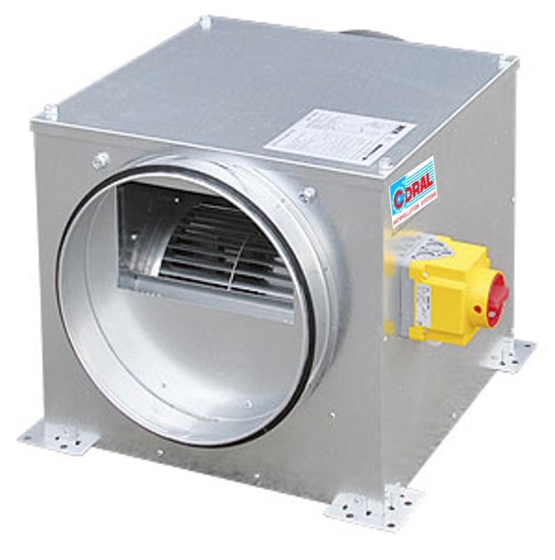 Caisson d'extraction ou d'insufflation - Ventilation générale