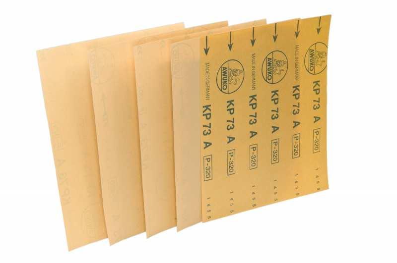 Schleifbogen für Holz / Fußboden, Lack / Farbe KP73A - Körnungen: P60 - P1000