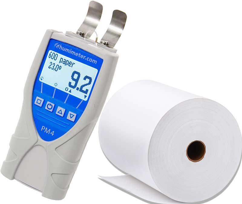 Feuchtemessgerät für Papier - humimeter PM4