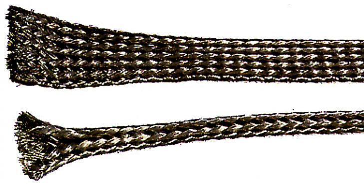 Trenza de cobre - Trenza de cobre para apantallamiento conforme a CEM