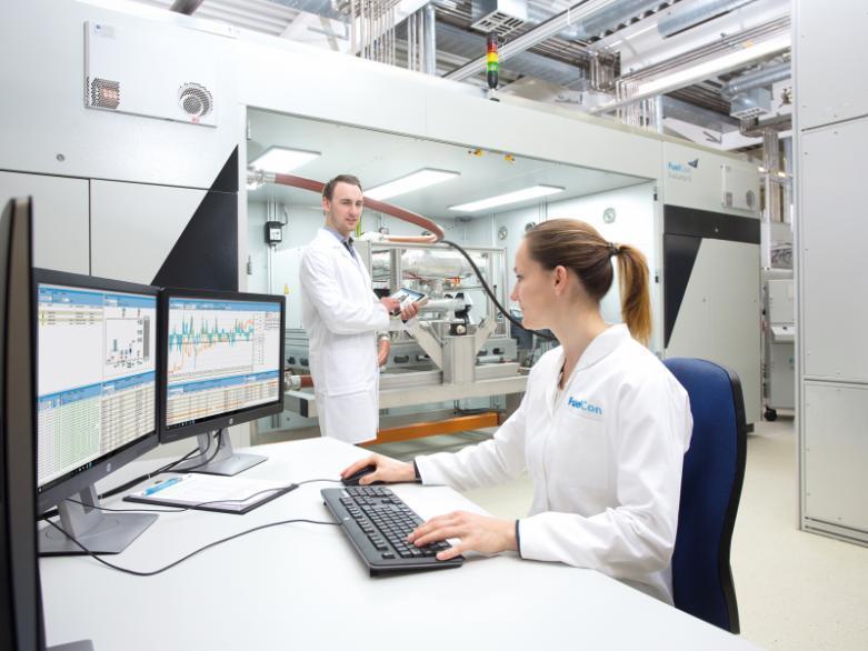 Prüfstand für PEM-Brennstoffzellensysteme - Prüfstand für das Testen von PEM-Komponenten über 250 kW