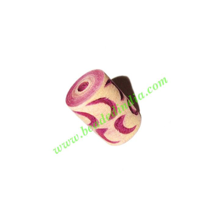 Wooden Carved Beads, size 10x15mm, weight approx 0.94 grams - Wooden Carved Beads, size 10x15mm, weight approx 0.94 grams