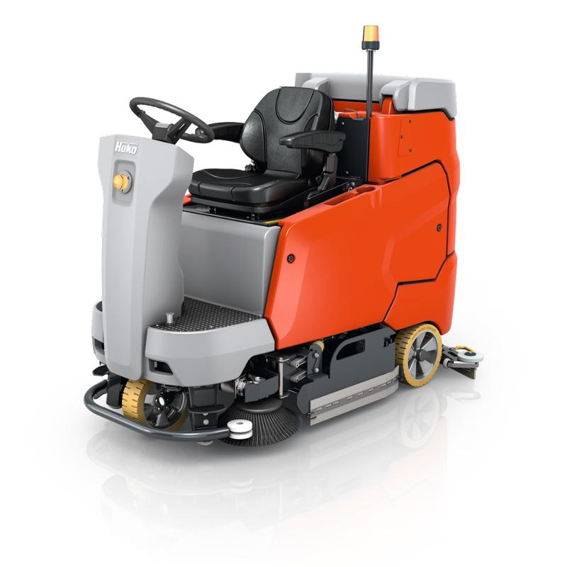 Scrubmaster B175 R - Ride-on scrubber-drier for efficient cleaning, also on inclines