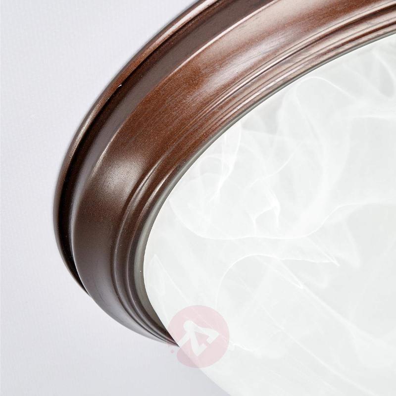 Corvin Bathroom Ceiling Light Rust-Coloured - Ceiling Lights