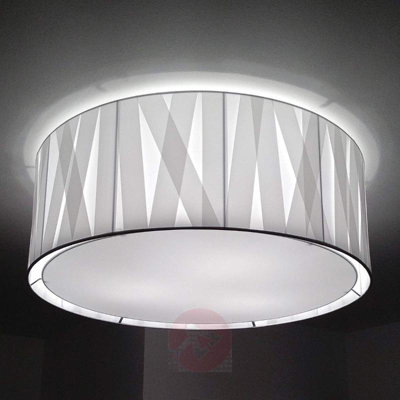 100 cm - fabric ceiling light Cross Lines C100