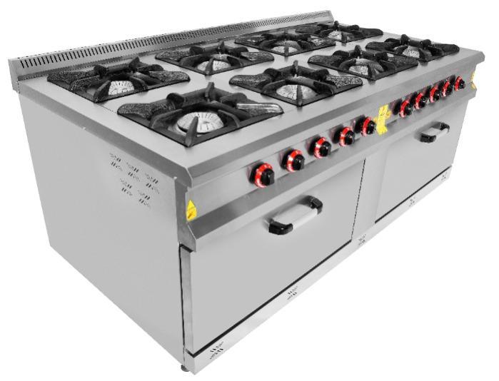 Жаровые печи - Промышленное кухонное оборудование