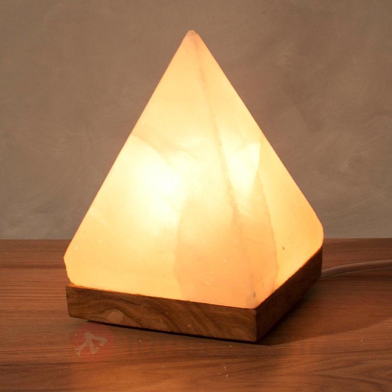 Lampe de sel PYRAMIDE pour des moments magiques - Lampes de sel