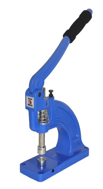 TEP-3 Manuel Eyelet Attaching Machine - Self Piercing Eyelets, Jean Buttons, Snaps, Rivets