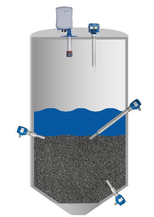 NivoBob®-Vibranivo® - Mesure d'interface liquide-solide - Il existe plusieurs secteurs d'activité où il faut mesurer les niveaux de boues