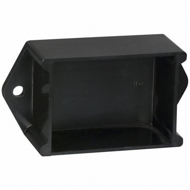 """BOX ABS BLACK 2""""L X 1.5""""W - Bud Industries PB-1558-BF"""