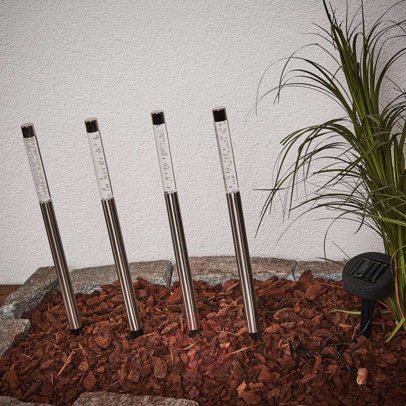 Felia LED Solar Lights Pack of Four - outdoor-led-lights