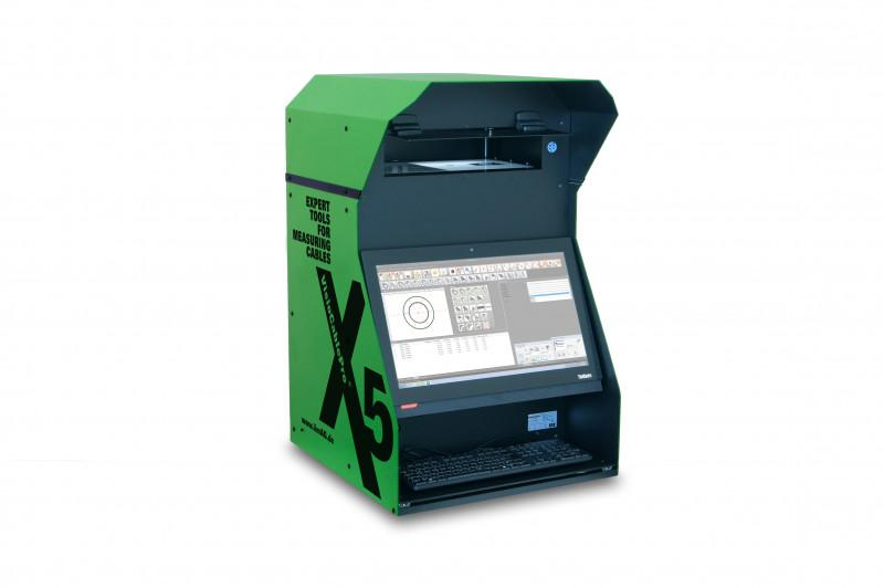 Cable measurement device VCPX5 - Device VCPX5 for measuring cable samples  according to standard IEC 60811