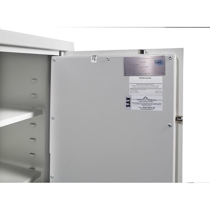Coffre fort encastrable Hartmann WB 6 - 73 litres - Sécurité des biens et des personnes