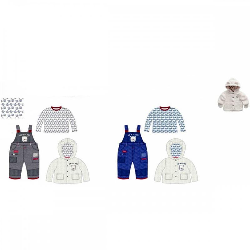 Ensemble 3 pieces Tom Kids du 1 au 18 mois - Vêtement hiver