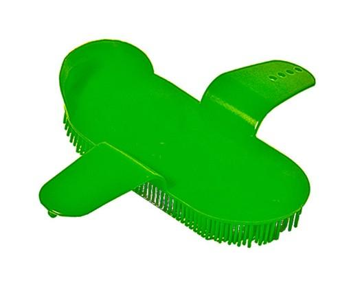 17.5×8.5cm plastic horse curry comb for grooming - horse body brush / horse grooming brush/horse plastic dandy brush