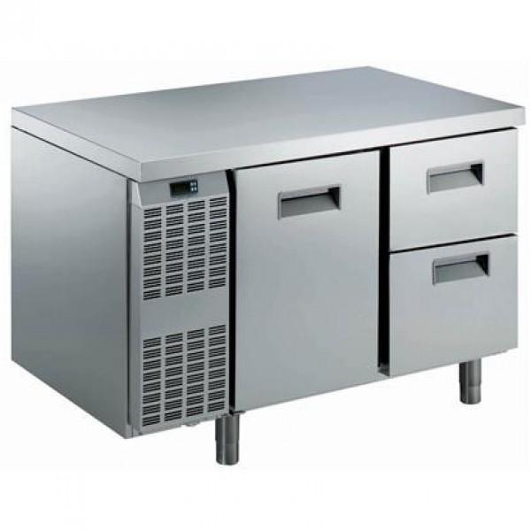 MEUBLES RÉFRIGÉRÉS ET SALADETTES - Table réfrigérée Benefit-Line 1 porte + 2x 1/2 tiroirs -2°C/