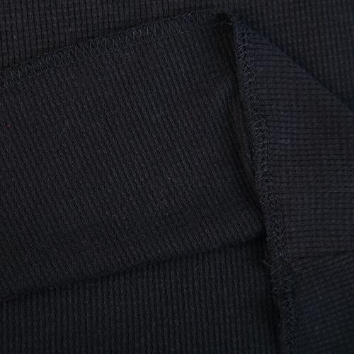 Personnalisé à manches longues imprimé côtes t shirt femmes - Anti-Pilling, Anti-Shrink, Anti-Rides, Respirant, Eco-Friendly, Plus Size