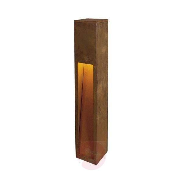 Rusty Slot 80 Path Light Attractive - Path and Bollard Lights