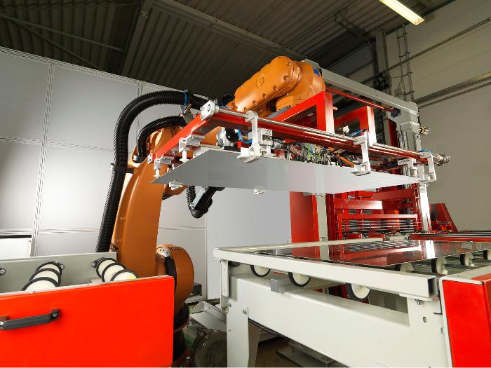 Pinza RobotOverhead -