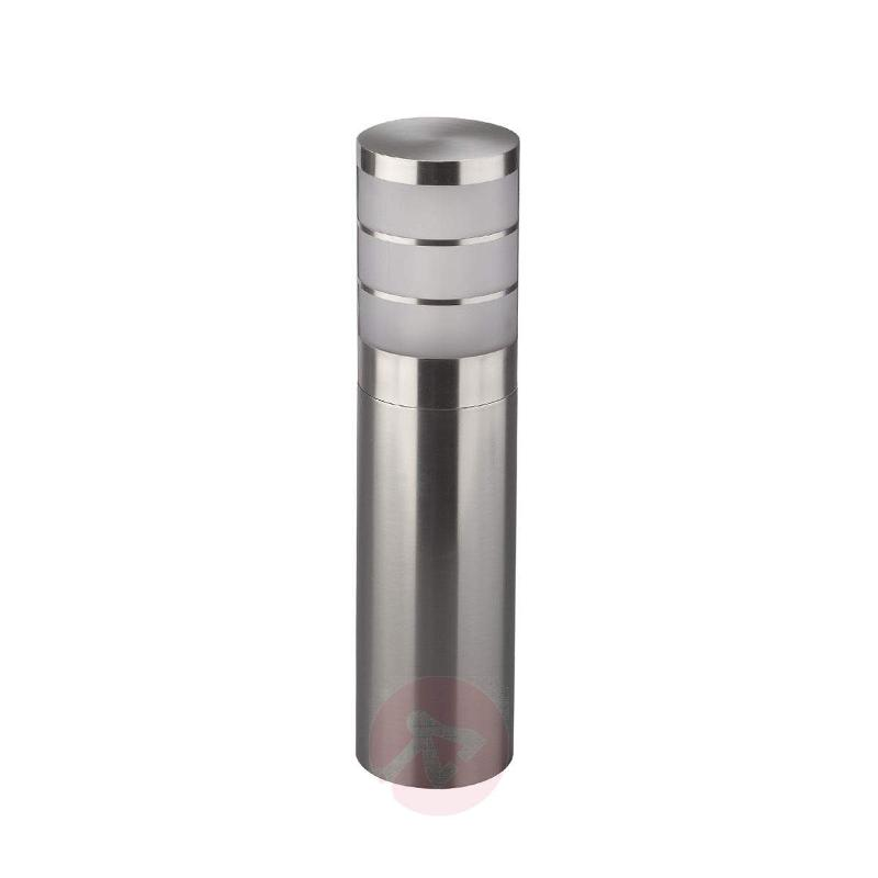 Stainless steel pillar light Calgary IP44 - Pillar Lights
