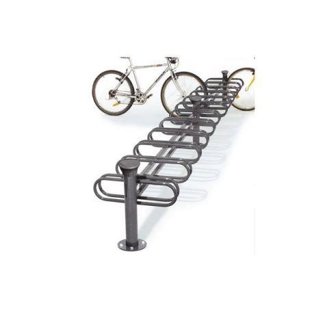 Support Cycles Déco 6-12 Places Simple / Double Face - Abrisbus