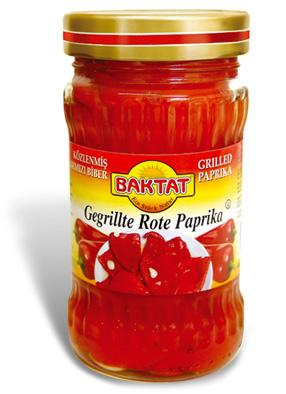 Grilled red paprika - null