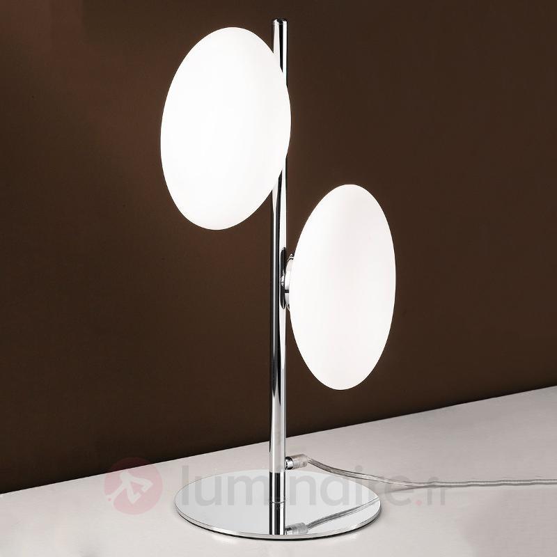 Lampe à poser Melody à deux lampes, interrupteur - Toutes les lampes à poser