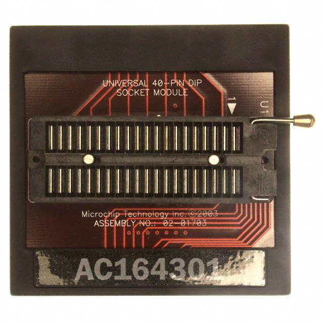 MODULE SKT FOR PM3 18/28/40DIP - Microchip Technology AC164301