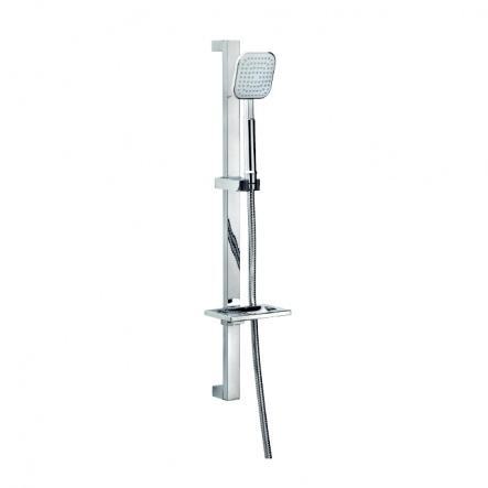 Saliscendi con doccia ABS e flessibile doppia... - saliscendi / ART.4181