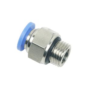 One Touch Tube Fittings with O-ring - One Touch Tube Fittings with O-ring, BSP Thread Push in Fittings