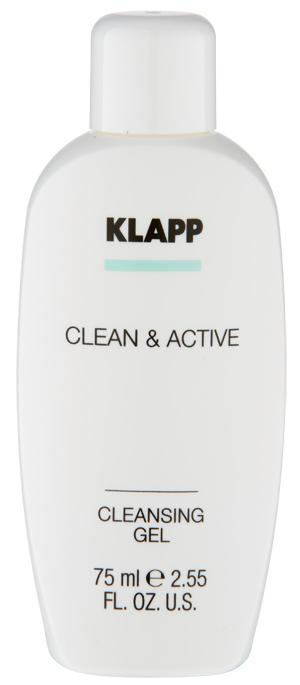 CLEANSING GEL - CLEAN & ACTIVE 75 ml