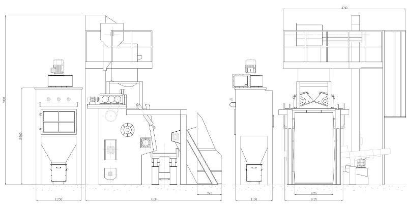 COSER CS RBC 450 - Sabbiatrici e granigliatrici