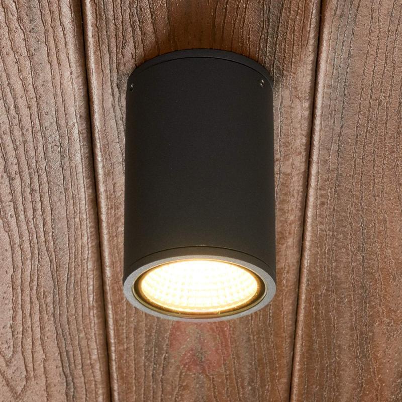 Dark grey Hana LED outdoor light - outdoor-led-lights
