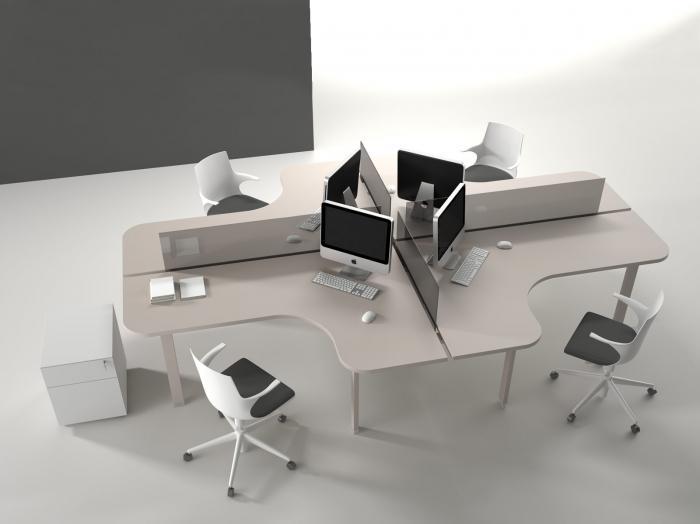 Bureaux Alea atreo - Postes de travail